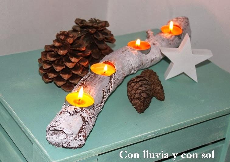 Tu mejor sonrisa en cualquier ocasi n decora con velas y - Porta velas navidenas ...