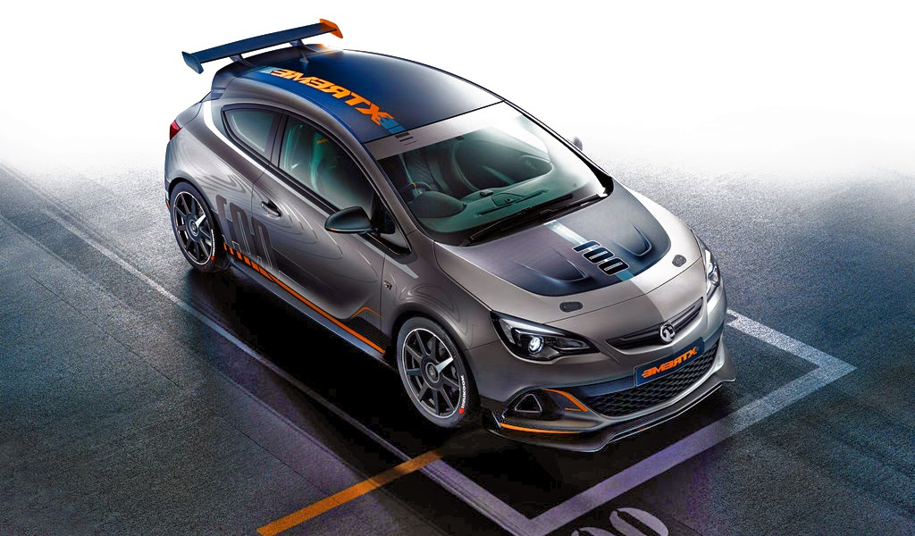 2015 Vauxhall Astra VXR Extreme Wallpaper