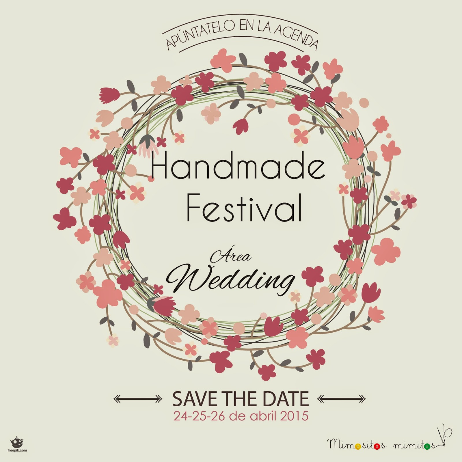 Handmade Festival 2015 area wedding craft como preparar boda original-01
