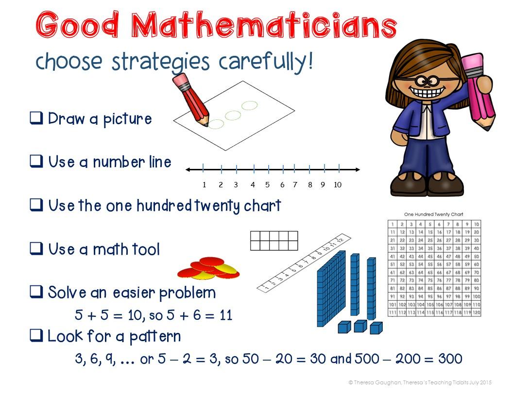 Theresa\'s Teaching Tidbits: Math Tip Monday: Addition & Subtraction ...