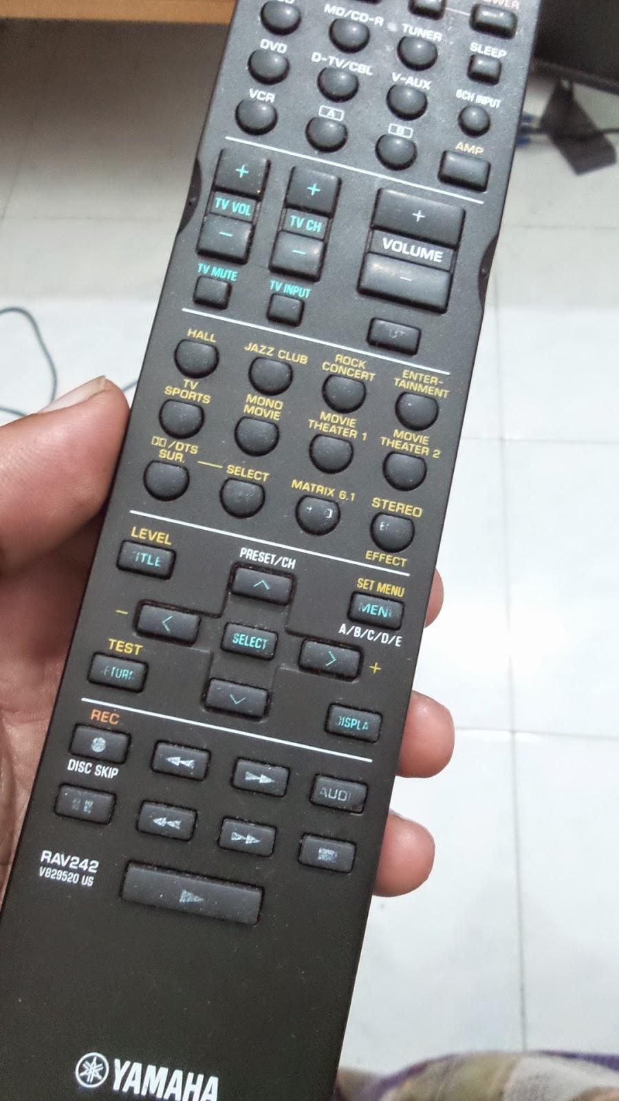 Tolong Aku belum Merdeka dari Remote Control Amp