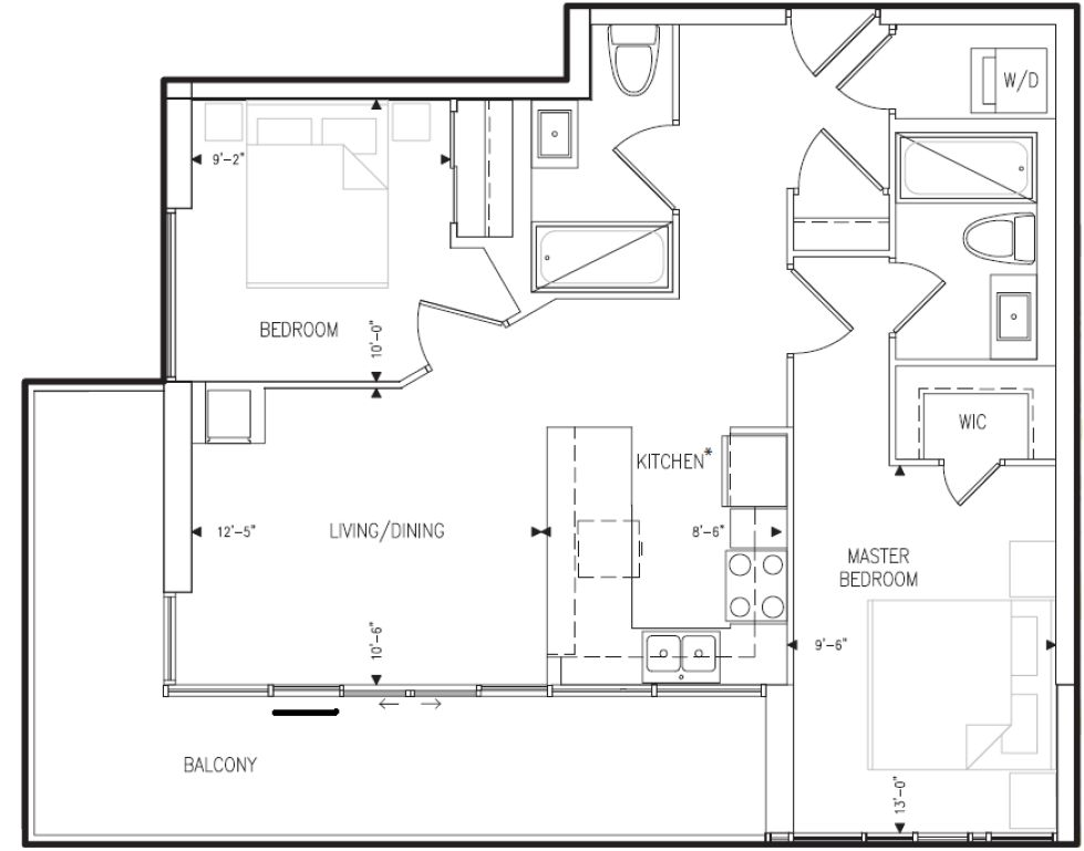 Carmen s corner no small space should be intimidated for Small condo plans