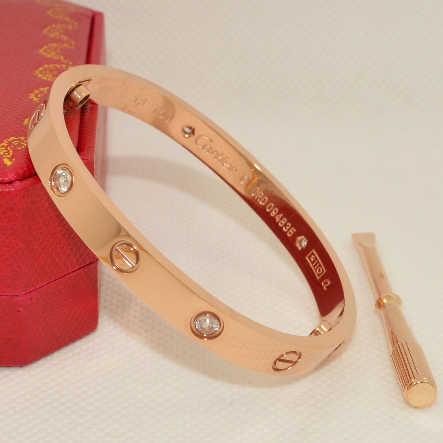 love bracelet cartier replica gallery