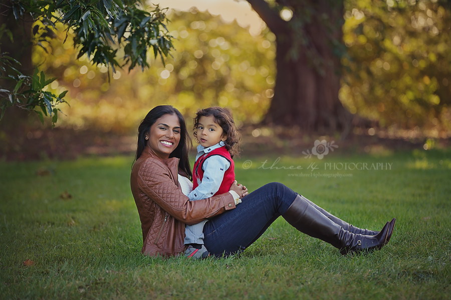 Beautiful mom and 2 year old baby boy pics