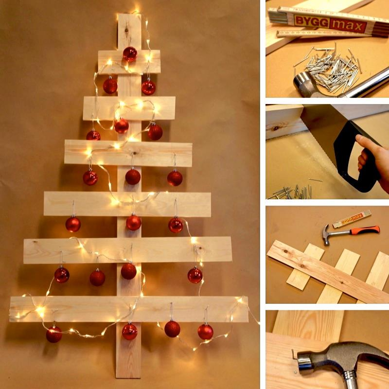 diy wooden christmas tree - Diy Wood Christmas Decorations