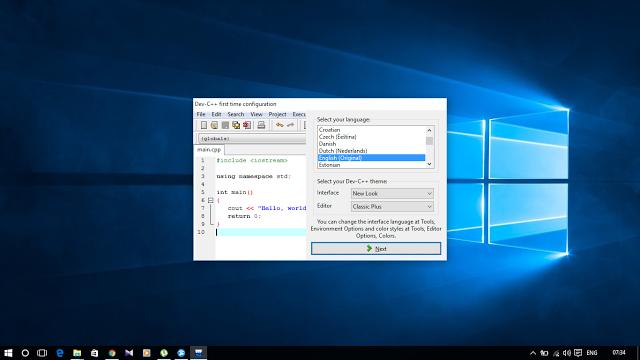 Dev-C++ Portable Download - softpediacom