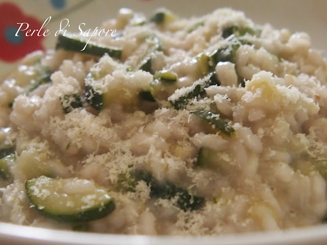 risotto alle zucchine