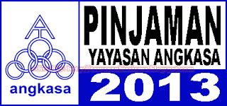 Pinjaman Pelajaran Yayasan Angkasa 2013