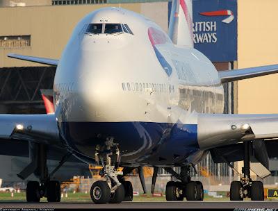 Simulando o voo BA0247: de Heathrow a Guarulhos no Boeing 747  G-BNLM
