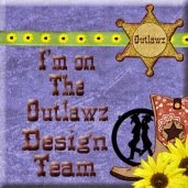 I Design for:  The Outlawz Festive Friday's Challenge