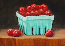 ACEO Raspberries