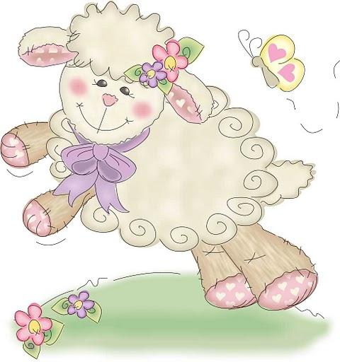 dibujos ovejas tiernas