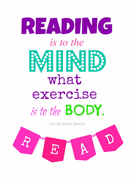 Reading Quote {printable}