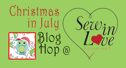 Sew In Love Christmas In July Tree Skirt