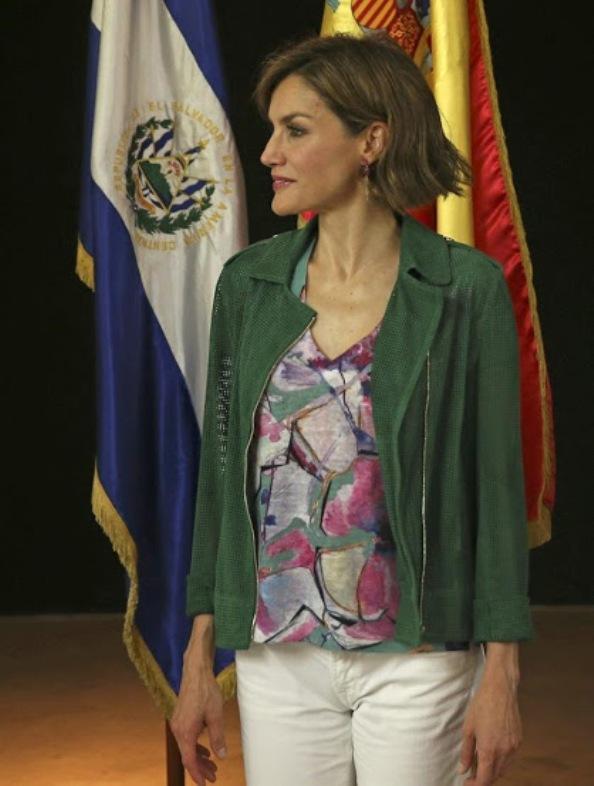 Queen Letizia Visits To El Salvador, Day-3