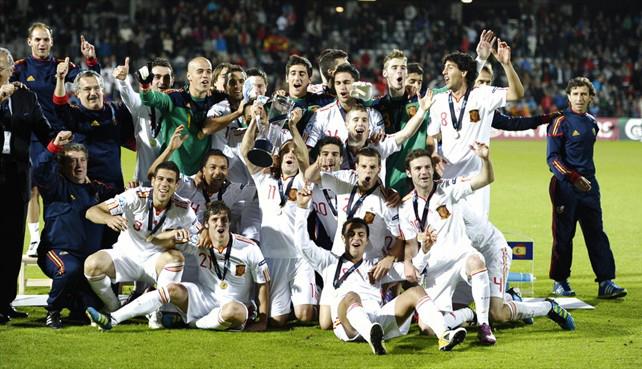 selección española de fútbol Sub-21 campeona de Europa 2011