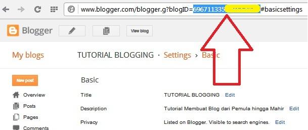 Seputar ID Blog dan Bagaimana Cara Mengetahuinya