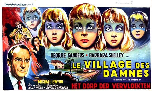 El pueblo de los malditos poster, 1960