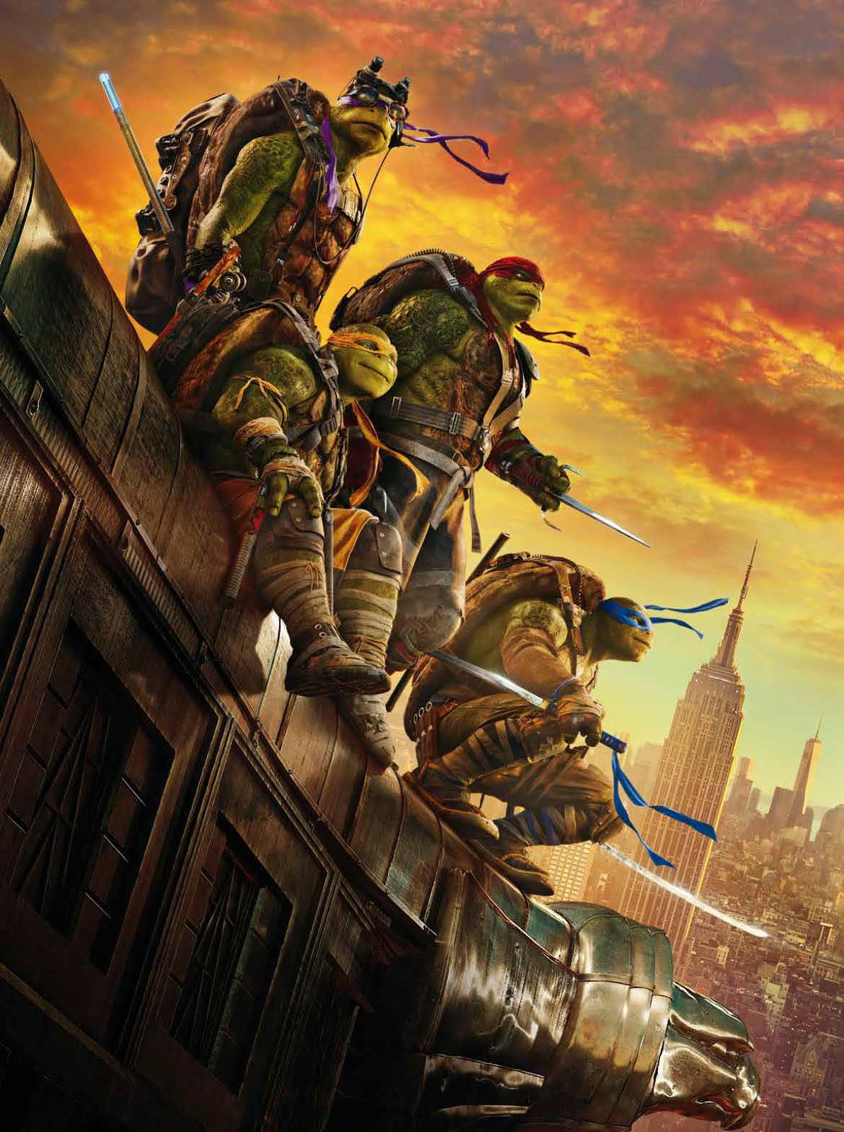 TEENAGE MUTANT NINJA TURTLES: OUT OF THE SHADOWS ...