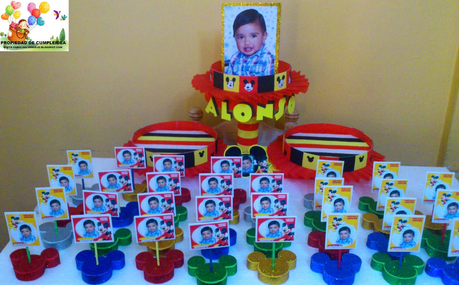 Decoraciones en foami para fiestas infantiles y baby for Decoraciones infantiles