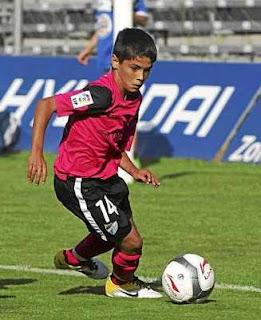 El sucesor de Lionel Messi Juega en el Málaga