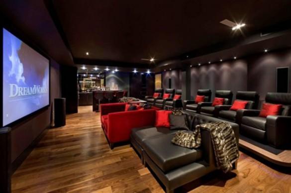 LAOROSA   DESIGN-JUNKY: Home Movie Theater Renovations (30 Pics)