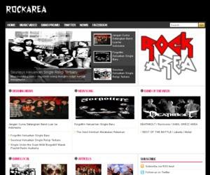 Rock Area Blogger Template