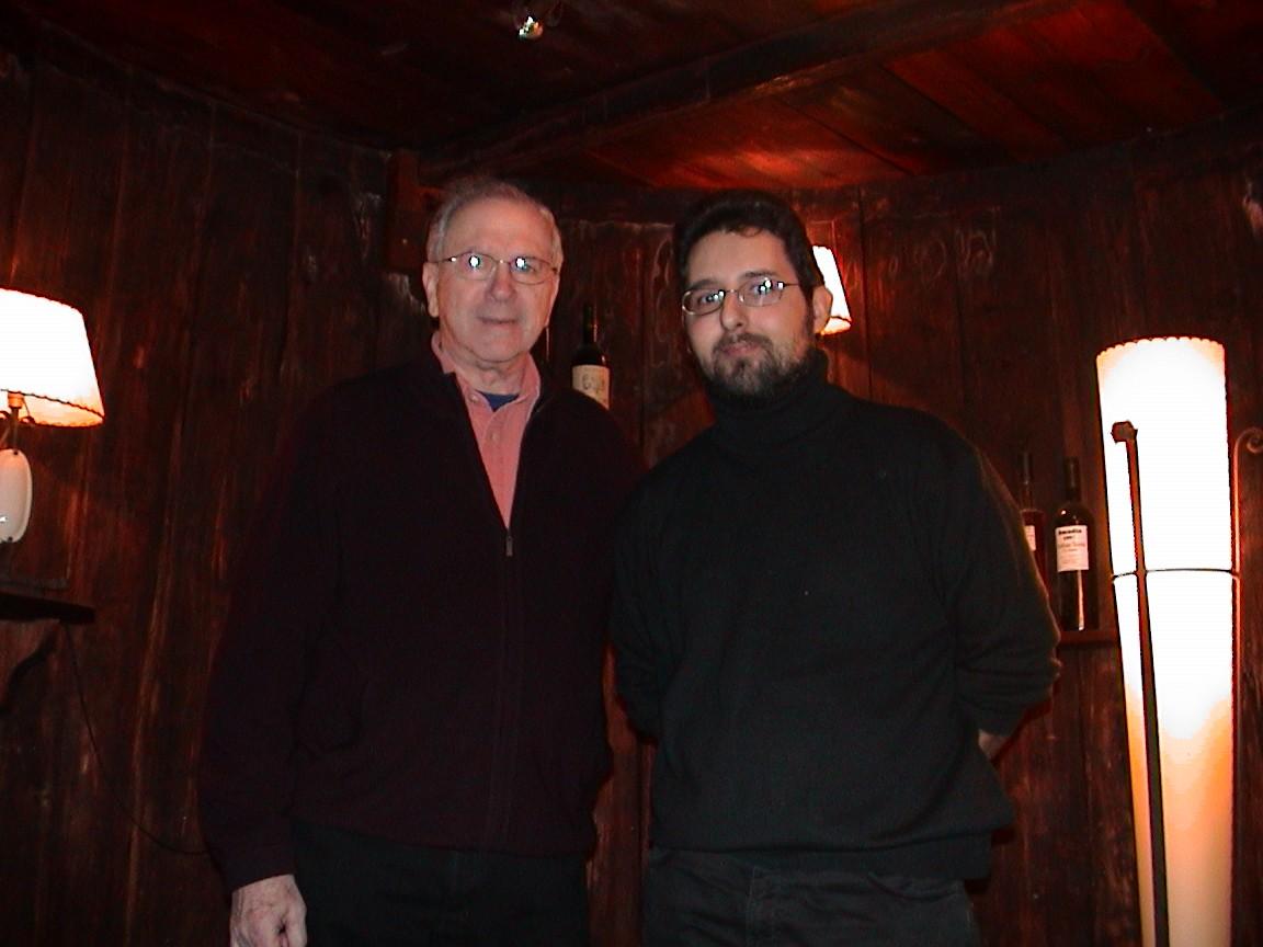 Visita de Noah Gordon a la bodega Rotllan Torra