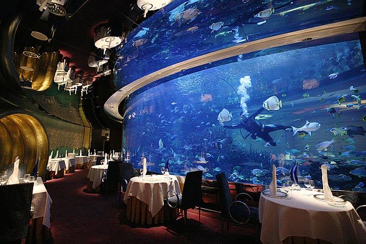 Luxury life design al mahara burj al arab dubai for Arabic cuisine in dubai