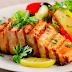 Prato do dia: salmão com legumes