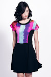 Liquorish Art Lover Skater Dress