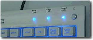 Rahasaia menarik Numb Lock, Caps Lock dan Scroll Lock