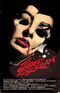 Too Scared to Scream (1985)