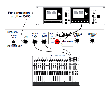 ra53 stereo headphone amplifier connection schematic electronics rh electro solution blogspot com Ampex Stereo Amplifier Schematic Ampex Stereo Amplifier Schematic