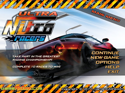 Free Download Nitro Racers Pc Game Cover Photo