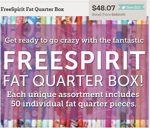 50 Fat Quarters