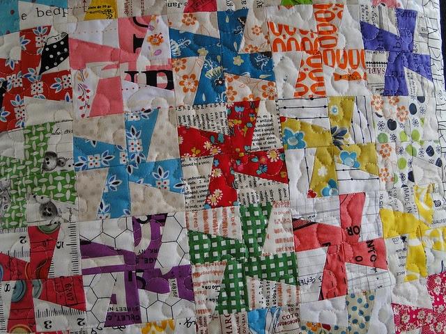Amour pois-moderne dot irrégulier spot tissu de coton couture quilting