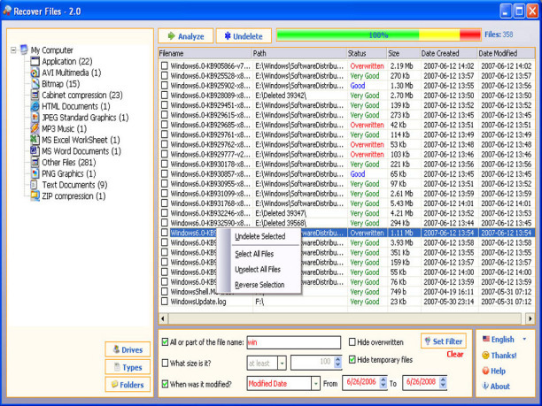 Recover Files Deleted From Recycle Bin Free Recovery