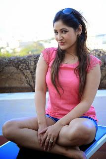 Actress Prabhjeet Kaur  Pictureshoot Gallery in Denim Shorts  10
