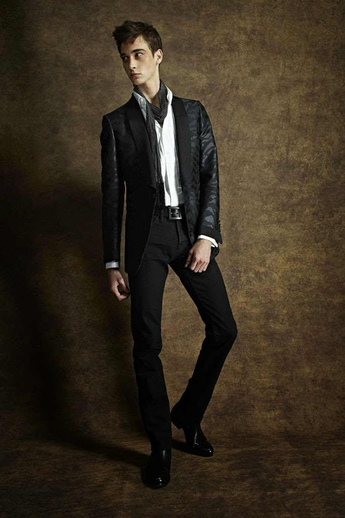 Tom Ford, LCM, London Collections, Spring 2015, rtw, Suits and Shirts,