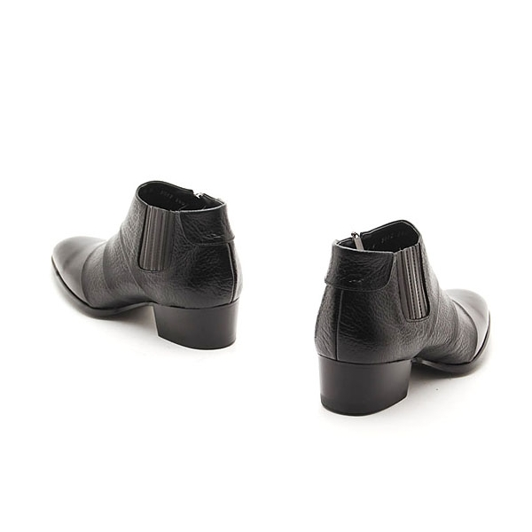 Mens Ankle Boots Zipper2