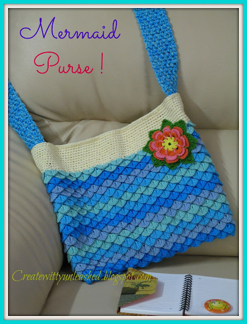 Createwittyunleashed.blogspot.com: Mermaid Purse