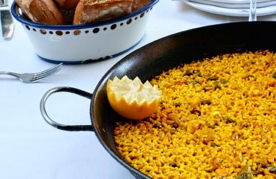 Samm's paella