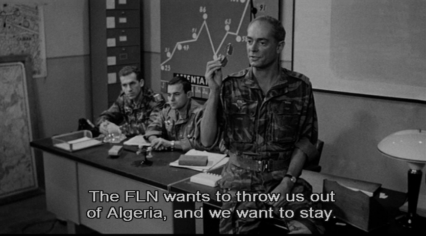 the intriguing scenes and story behind the film fgillo pontecorvos battle of algiers The battle of algiers was directed by the italian gillo pontecorvo and produced by antonio musu for igor film moral and intellectual motivations behind the film.