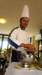 Special Food with Francesco....Best Chef in the World:-)