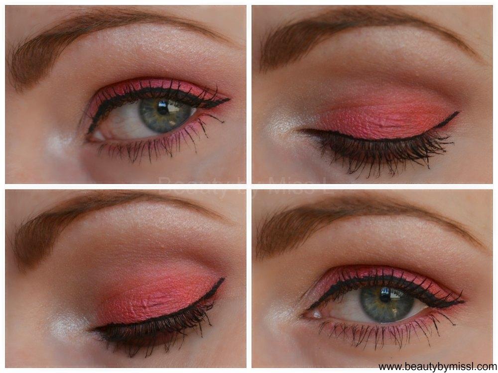 pink eye makeup look
