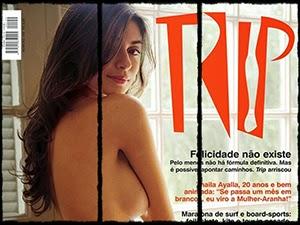 Thaila Ayala Nua Na Revista Trip