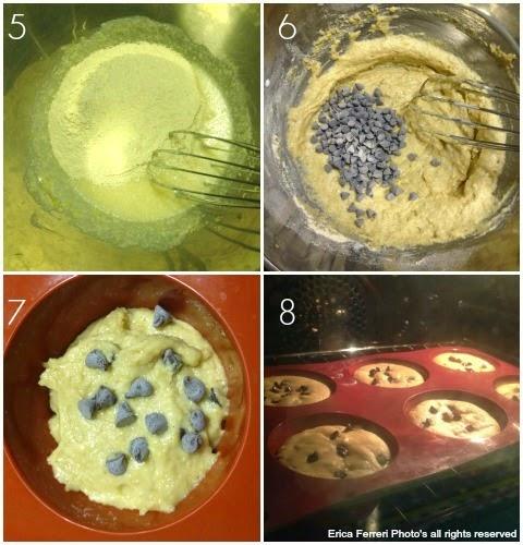 Preparazione dei Muffin allo yogurt - Senza uova!