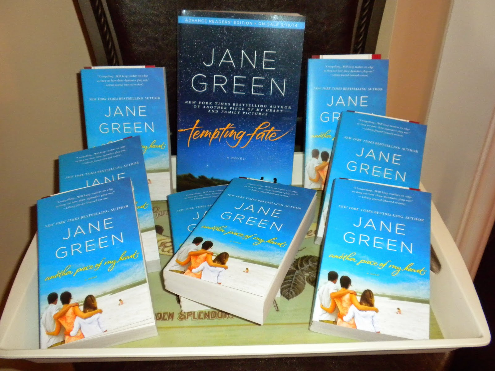 #JaneGreenParty Tempting Fate  #HousePartyFun