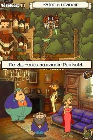 Profesor Layton y la villa misteriosa game nds rom descargar gratis